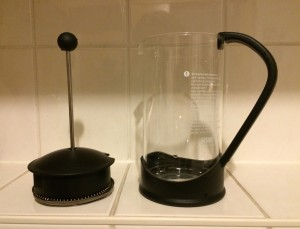 French_Press_Kaffeekochen