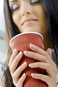 Kaffeegenuß vom Kaffeeautomaten.