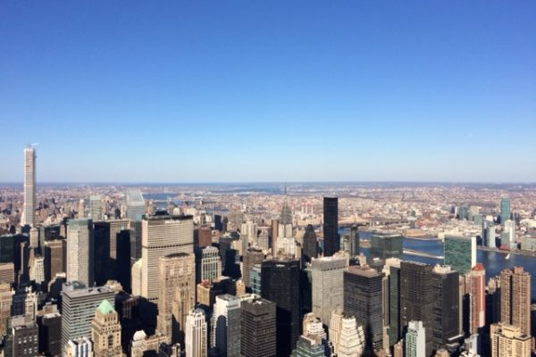 Reise nach New York